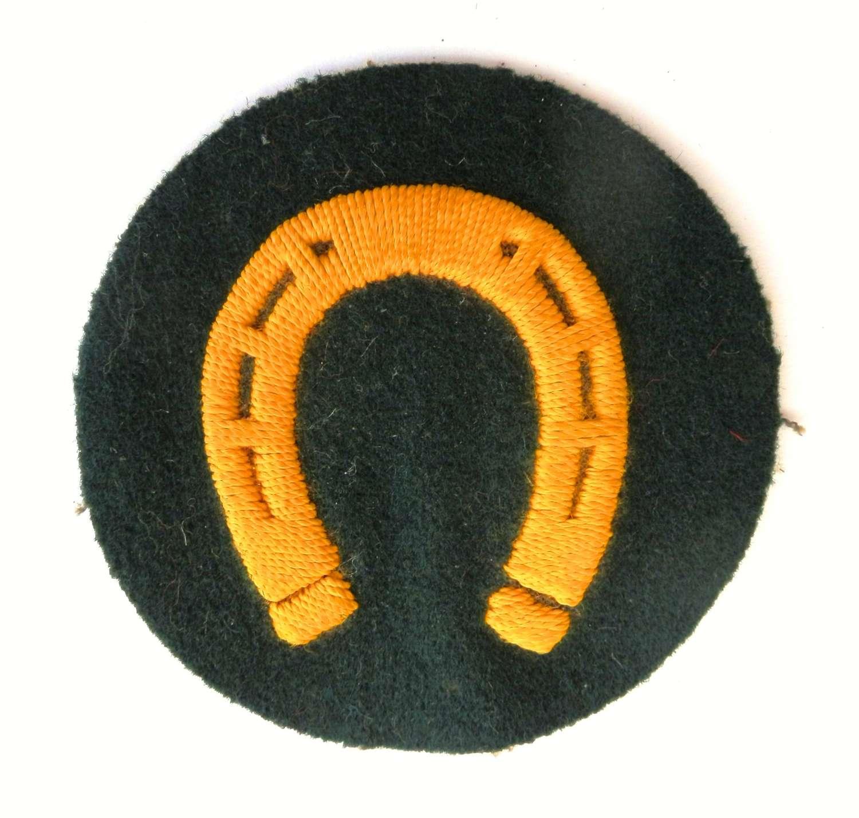 German Wehrmacht Farrrier Trade Sleeve Badge.