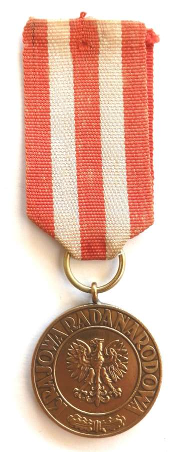 World War II Polish Forces Victory Medal 1945