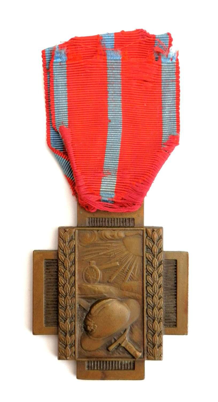 Belgium WWI. The Cross of Fire 1914-18.