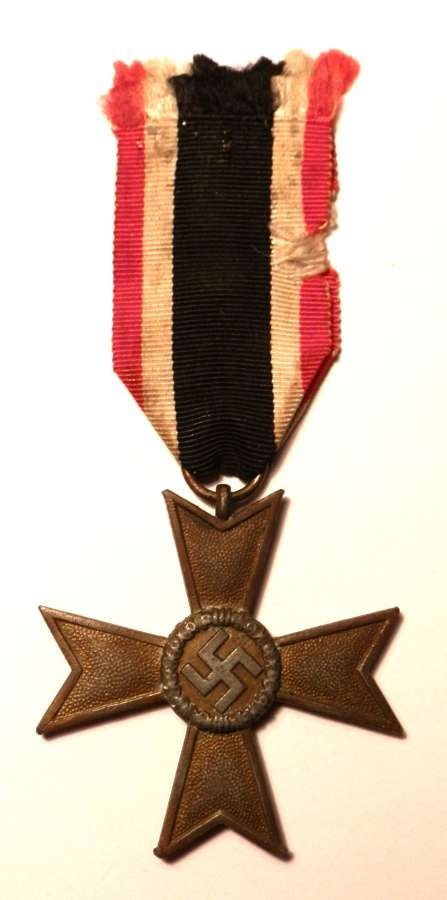 War Merit Cross, 2nd Class. None Maker Marked.