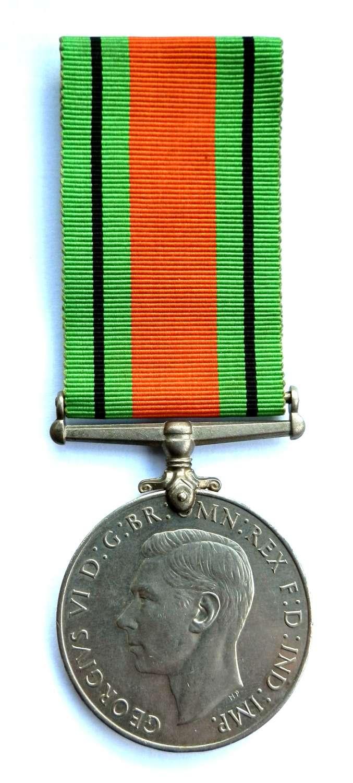 Defence Medal 1939-45.