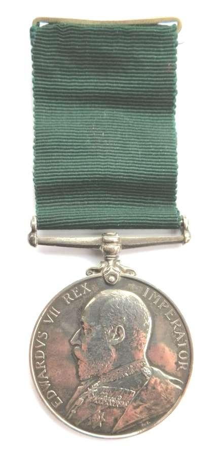 Volunteer L.S. Medal. C.Sjt. C.S. Ford. 5th Vol. Bn. Dev.Regt.