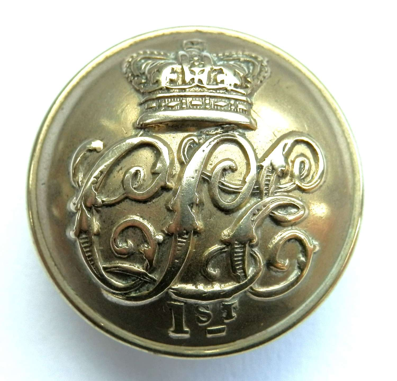1st City of London Engineers Button.