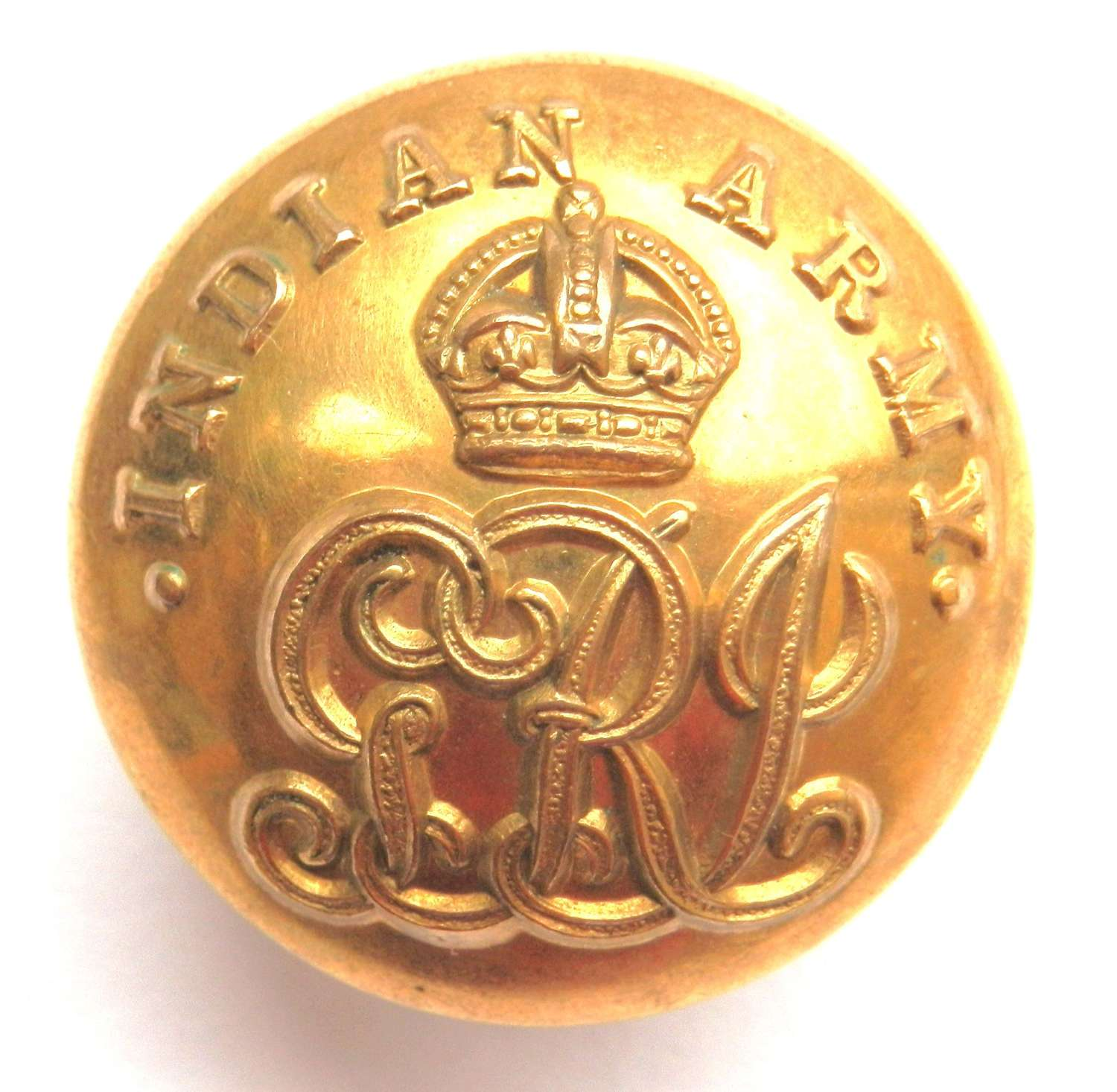 Indian Army Officers Button.