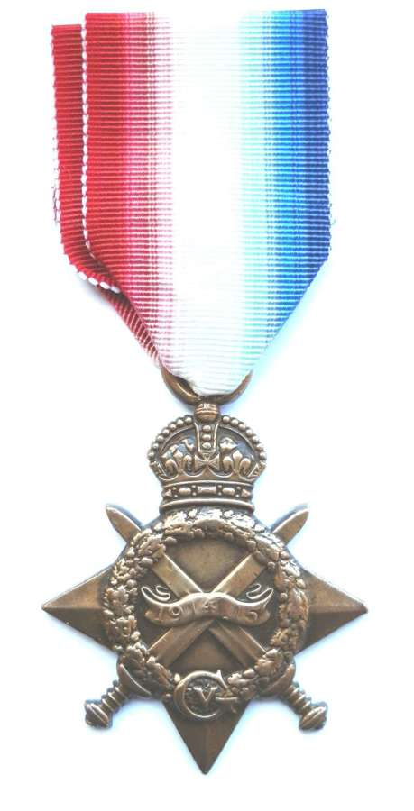 1914-15 Star Rfmn Khusla Ram. 1st/123 Outram Rifles