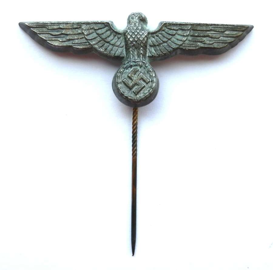 Kriegsmarine Donald Duck Cap Badge.