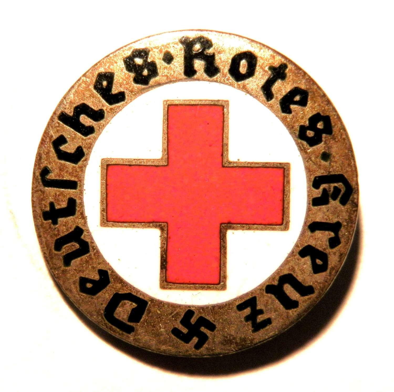 Deutsches Rotes Kreuz (DRK) Lapel Pin.