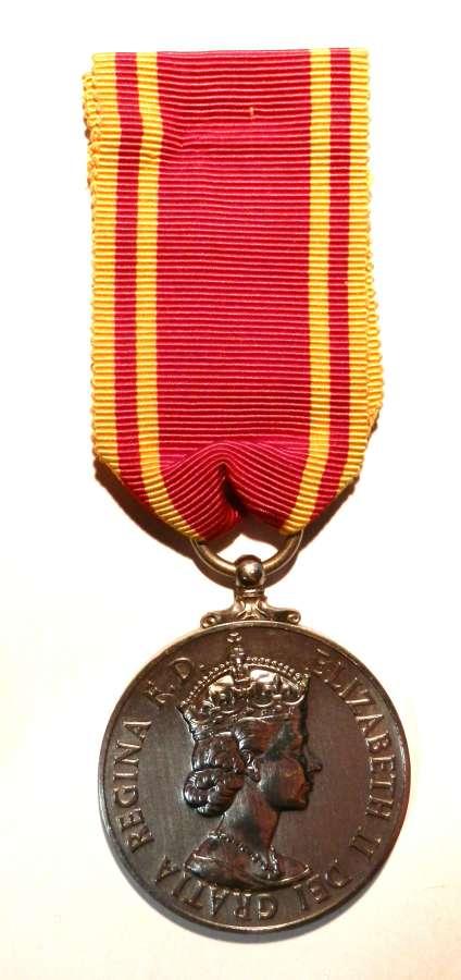 Fire Brigade Long Service. Fireman Alec R. Knight.