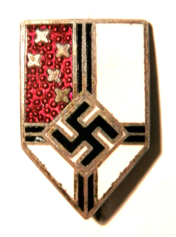 Reichs Kolonial Bund Lapel Pin.