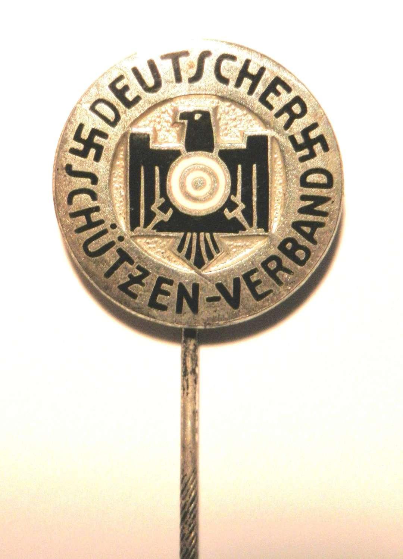 Deutscher Schutzen-Verband Members Pin.