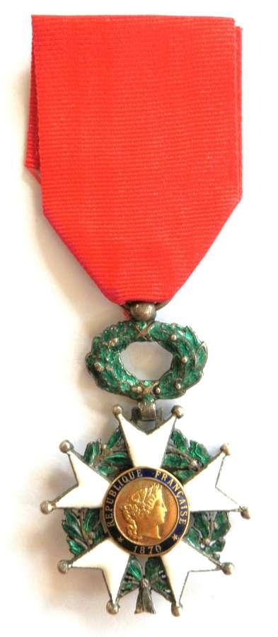 France Legion D'Honneur Circa issue 1870-1951.