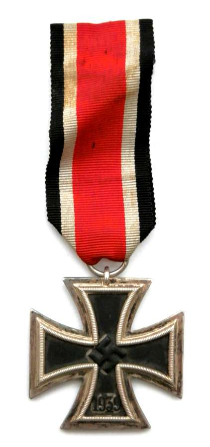 Third Reich Iron Cross, 2nd Class. Makers Marked No. 24