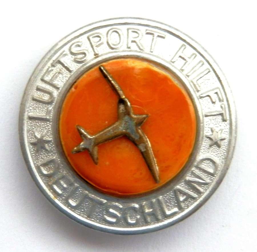 Luftsport Hilft Deutschland Members Badge