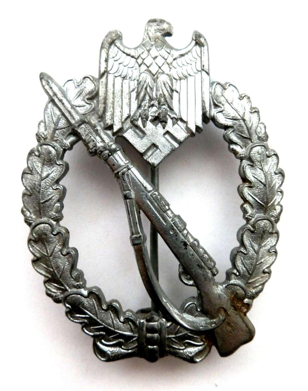 German Infantry Assault Badge. Non Maker Marked