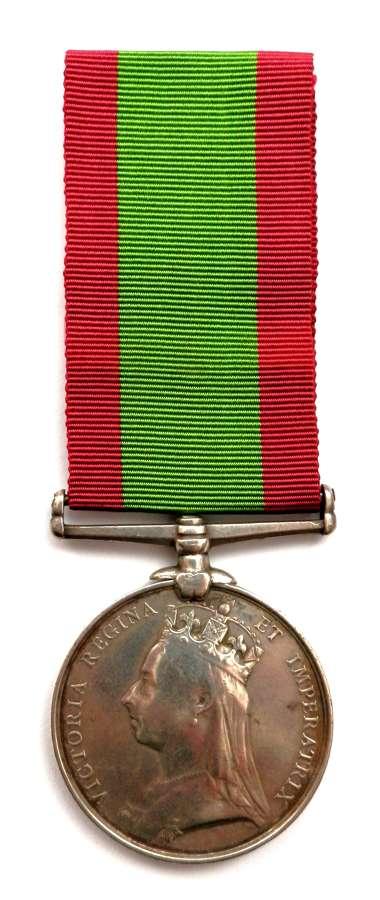 Afghanistan Medal 1879. Duffadar Joaya Khan. 18th Bengal Cavalry.