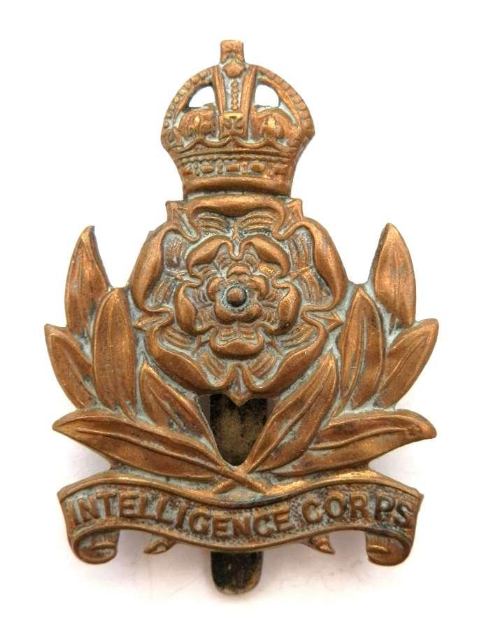 Intelligent Corps Cap Badge.