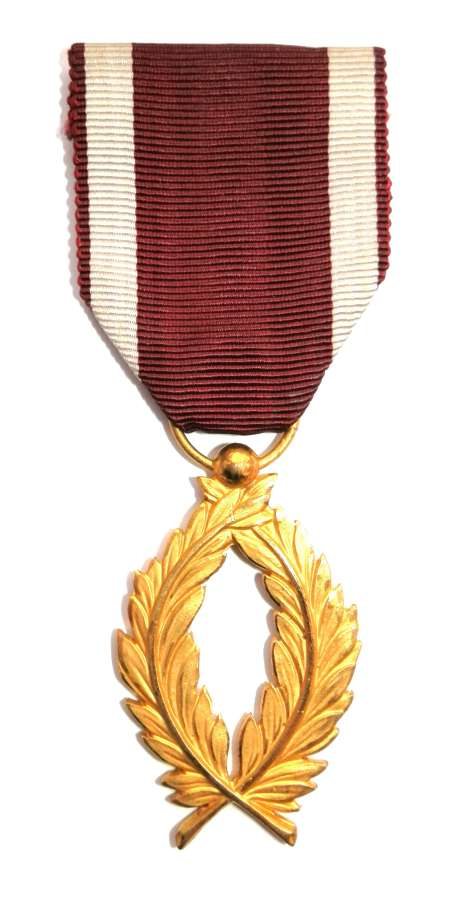 Belgium Order of the Golden Palms.