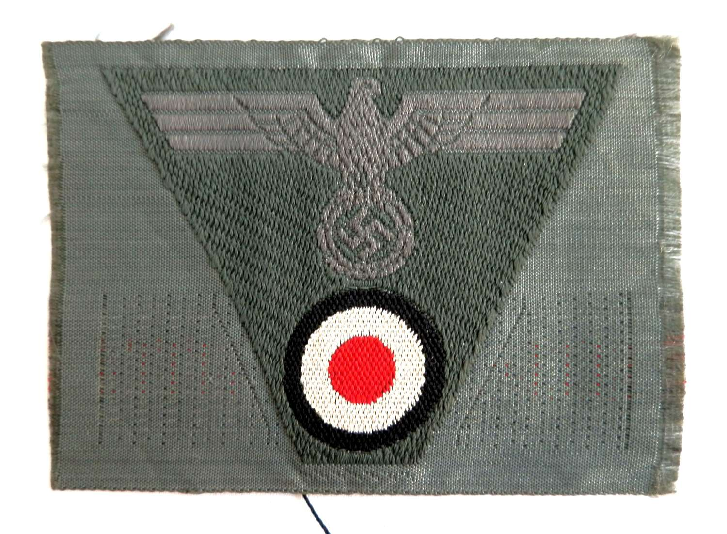 Army Pattern 43 Cap Insignia, Wehrmacht Issue.