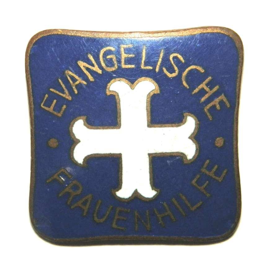 Evangelische Frauenhilfe Badge.