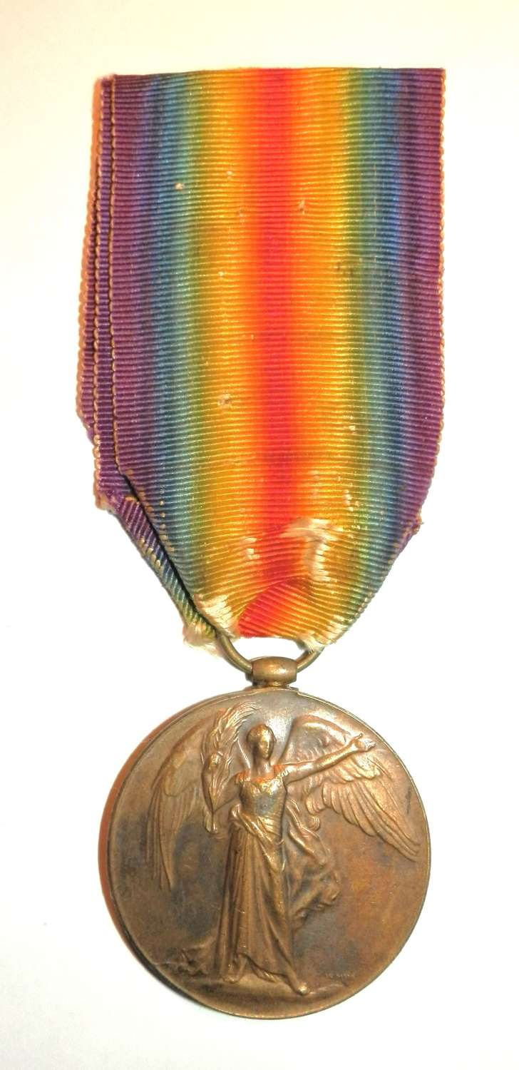 Victory Medal. A/Corporal William J. Richardson. Army Service Corps.
