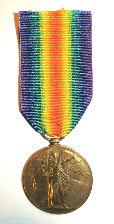 Victory Medal. Sapper-Driver Di Wan Ali. Sapper & Miners.