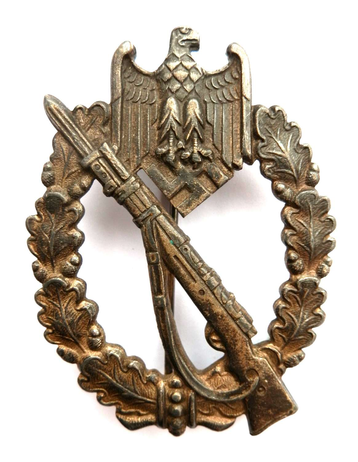 German Infantry Assault Badge. By 'C.W', Carl Wild.