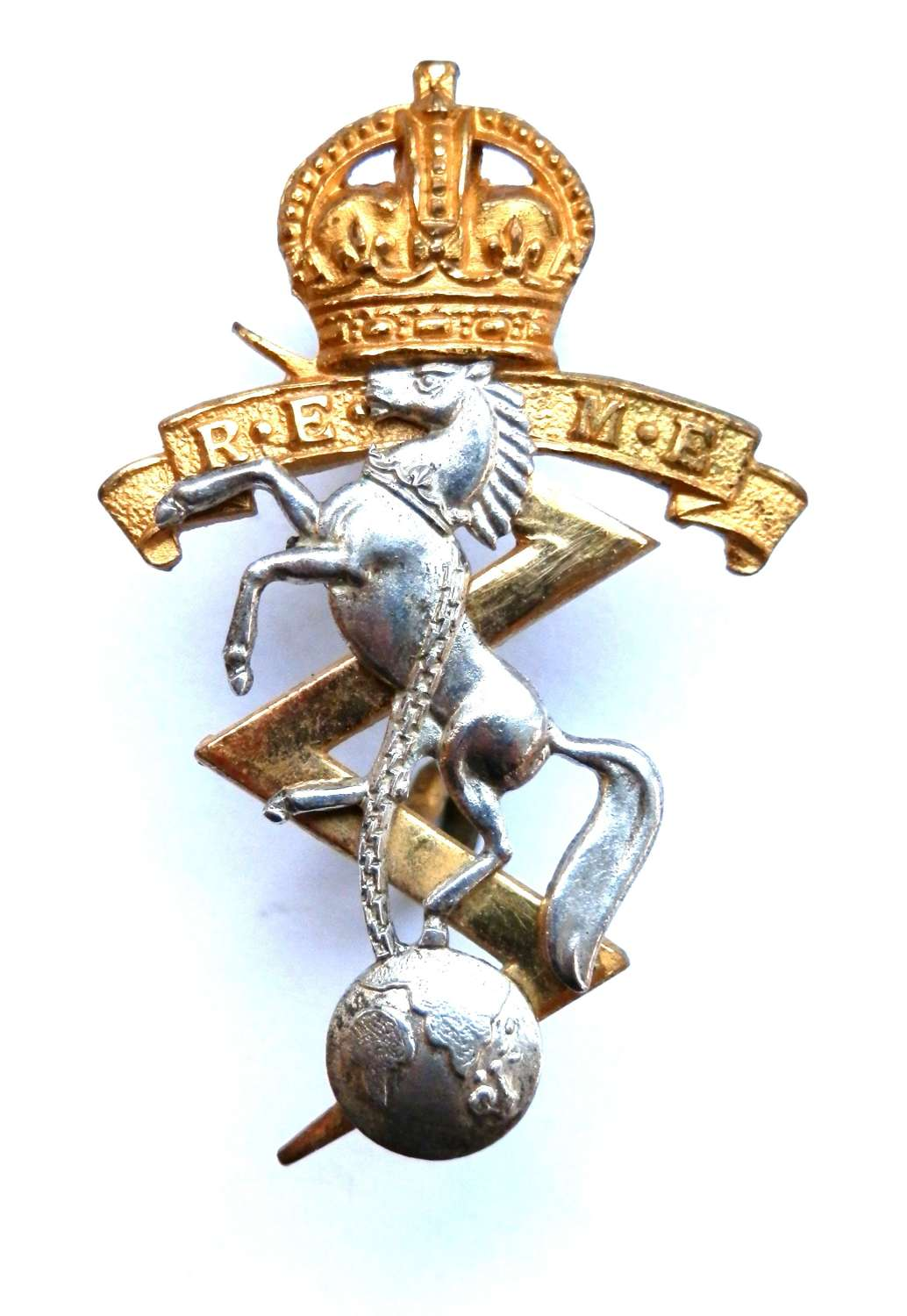 Royal Electrical and Mechanical Engineers Officers Badge