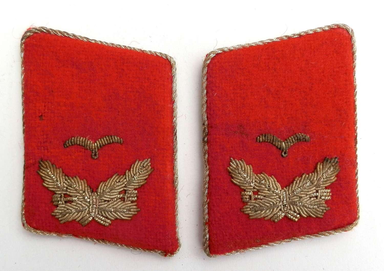 Lieutenant, Luftwaffe Anti-Aircraft. Collar Insignia.