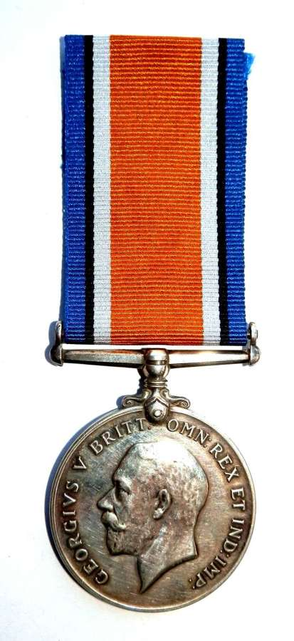 British War Medal Pte. W. Mallett, Notts Sherwood Rangers Yeo.