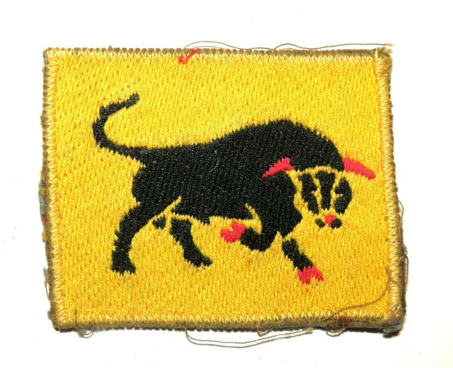11th Armoured Division, Cloth Formation Sign.
