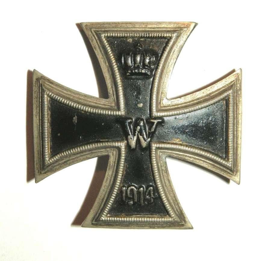 Imperial German Iron Cross, 1st Class.