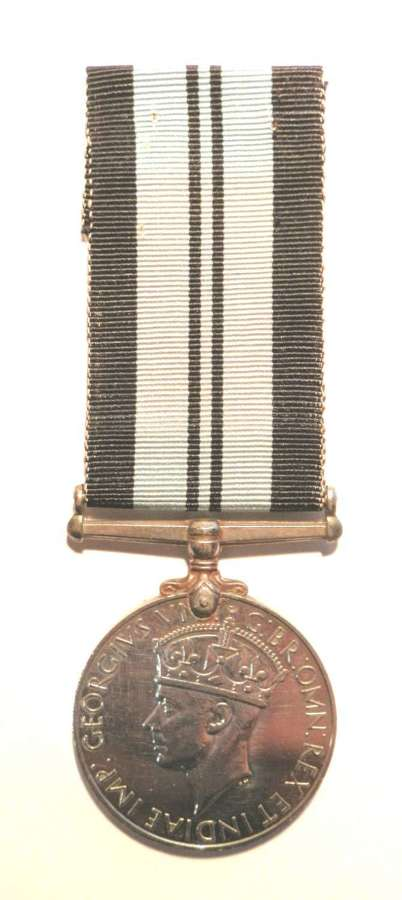 Indian Service Medal. Campaign 1939-45.