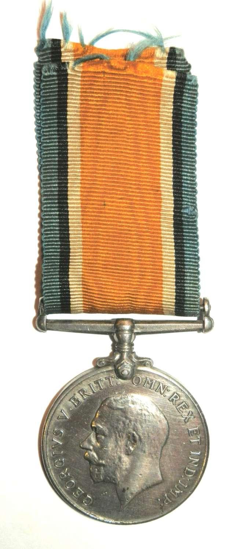 British War Medal. Gnr. W. Stockland S.A. Field Artillery.