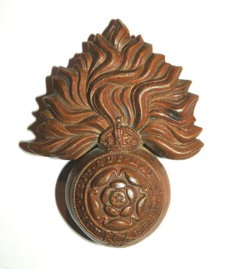 The Royal Fusiliers (City of London Regiment.) Cap Badge.