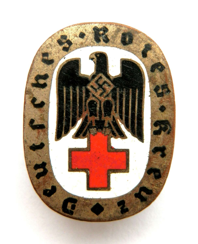 'Deutsches Rotes Kreuz' Members Pin.