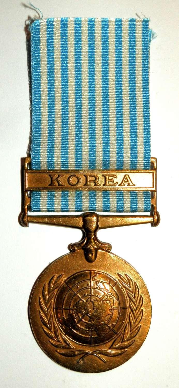 United Nations Korea Medal.