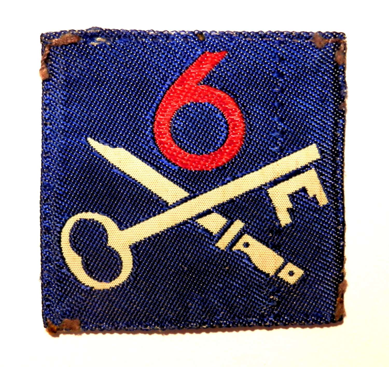 6th Infantry Brigade Formation Sign.