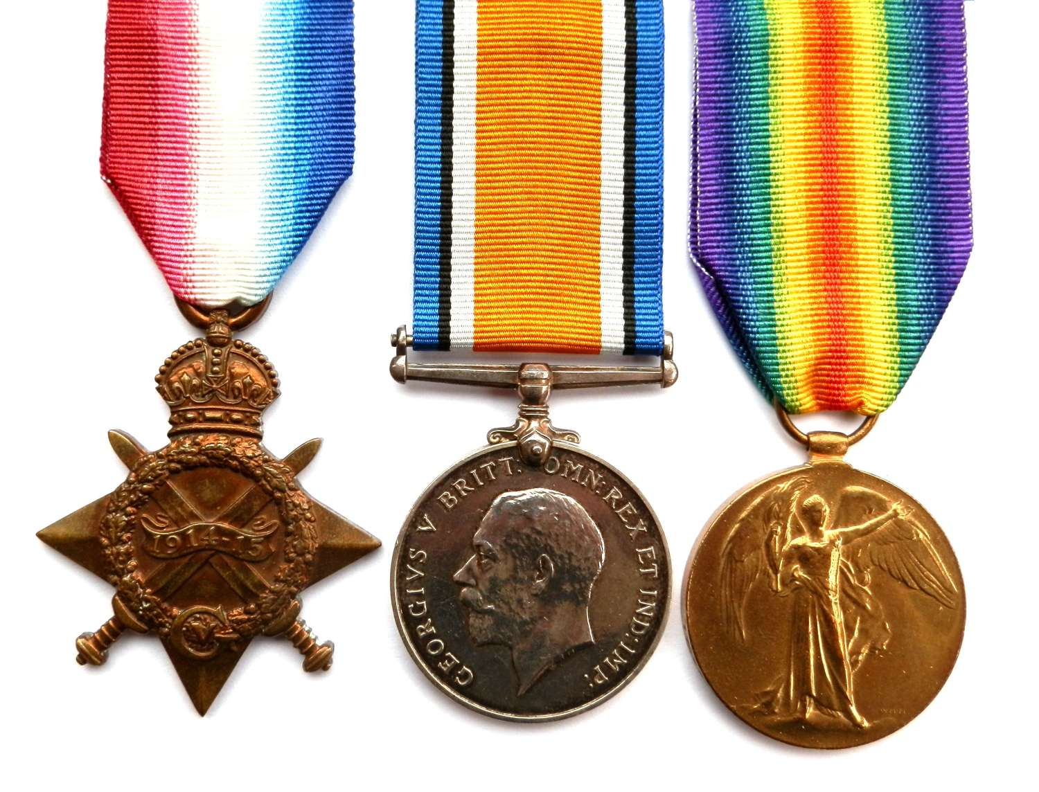 TRIO. Private Owen Henry Owen, 7th Bn. South Wales Borderers.
