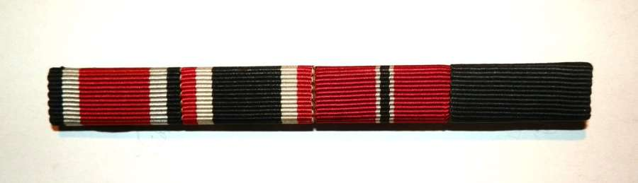 Wehrmacht Medal Ribbon Bar of Four.