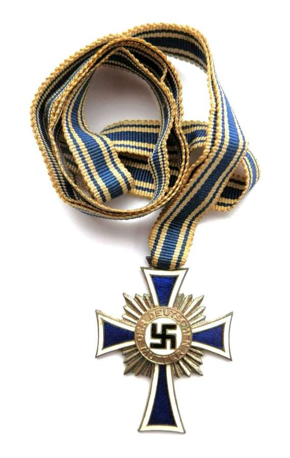 Silver Class Mothers Cross.