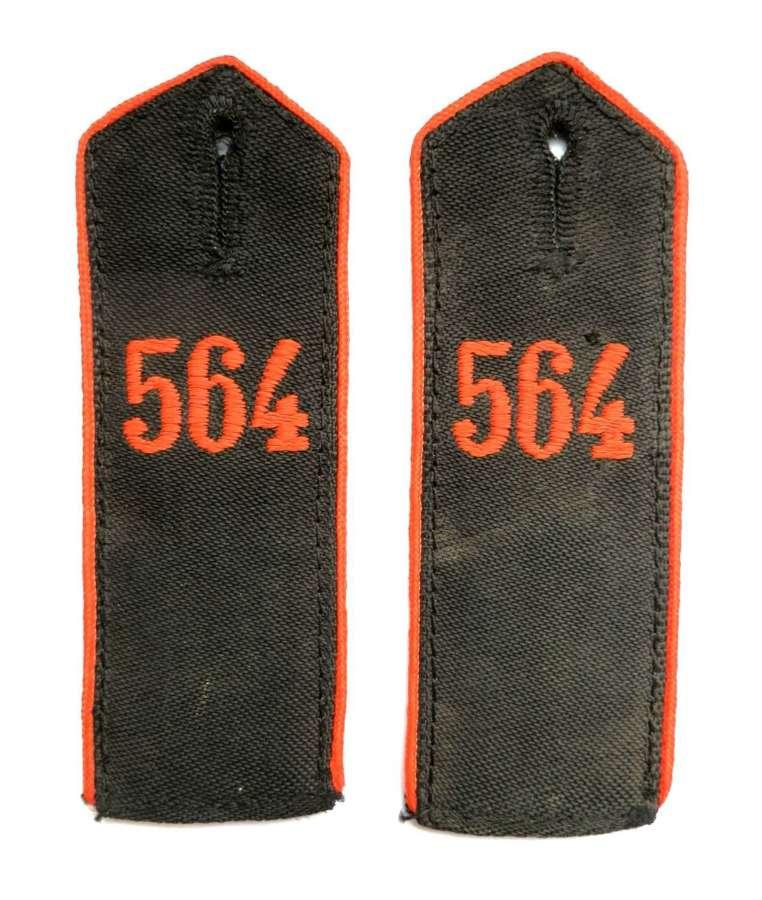 HJ Pair of Shoulder Straps, Bann 564.