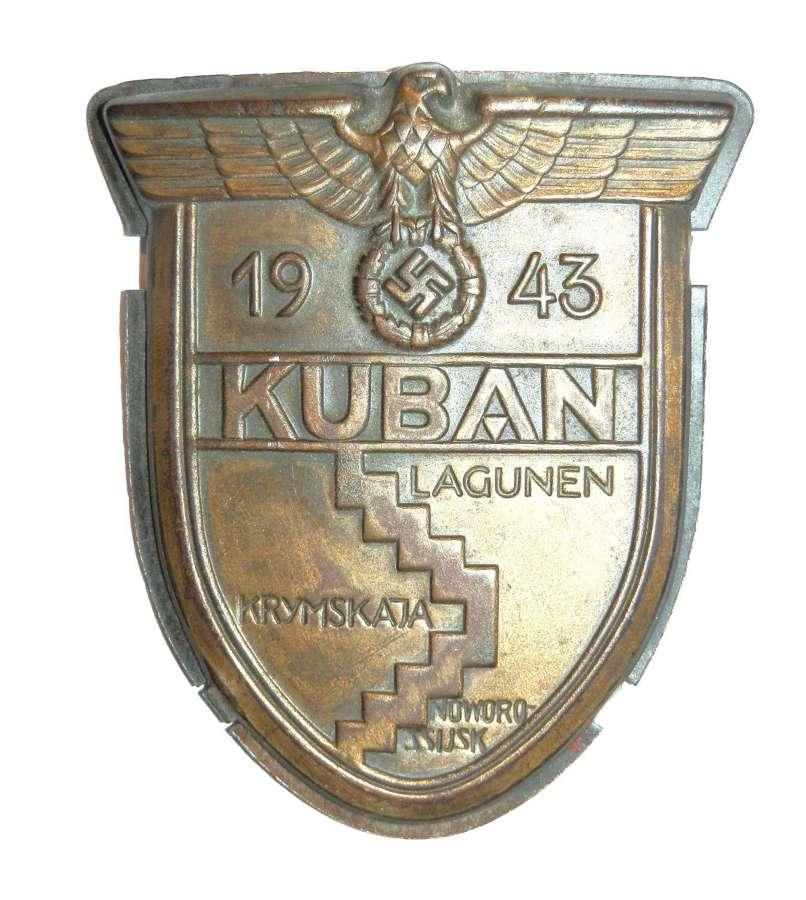 Kuban Shield , Luftwaffe, WH (Heeres, Waffen).