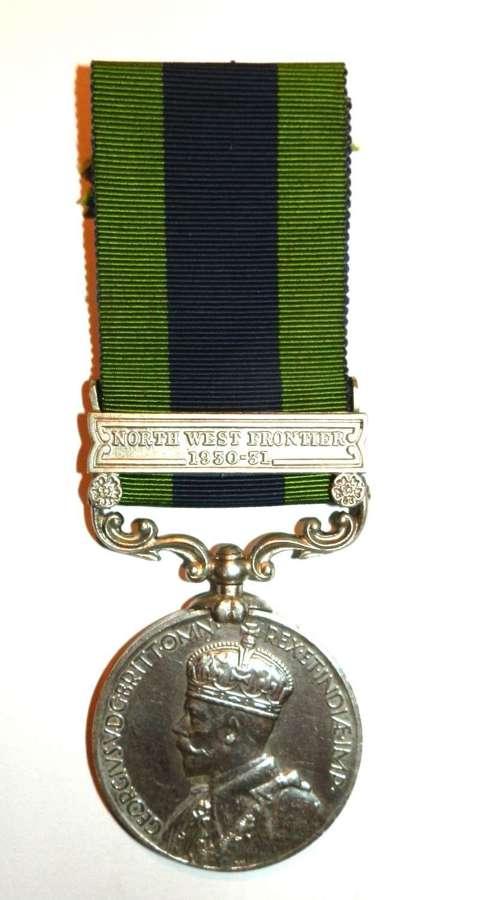Indian General Service 1908. Daf Fauja Singh. 20th Lancers.