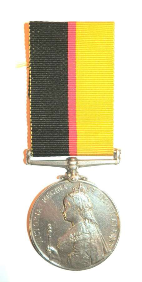Queen Sudan Medal. Private Alfred Dobson. 1st Lincolnshire Regiment.