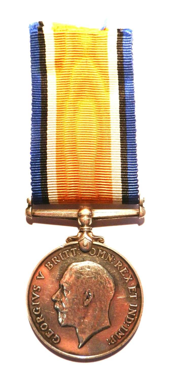 British War Medal. Spr. Albert Rawlinson 178th Tunnelling Coy. RE.