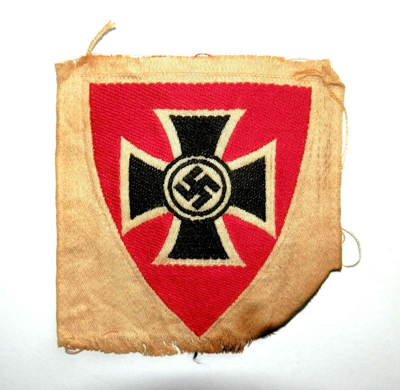 German Reichs Veterans WWII Cloth Insignia.