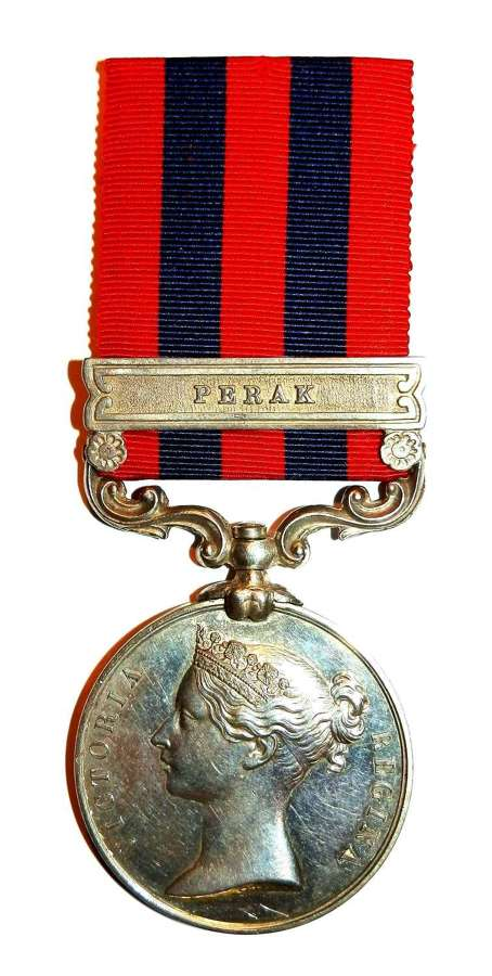 Indian General Service 1854. Private H. Roberts. 80th Regt of Foot.