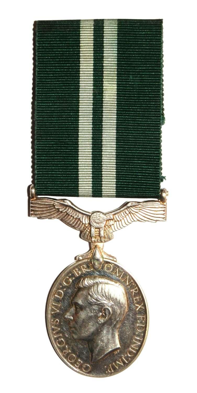 Air Efficiency Award Sgt J. P. Ide R.A.F. Volunteer Reserve.