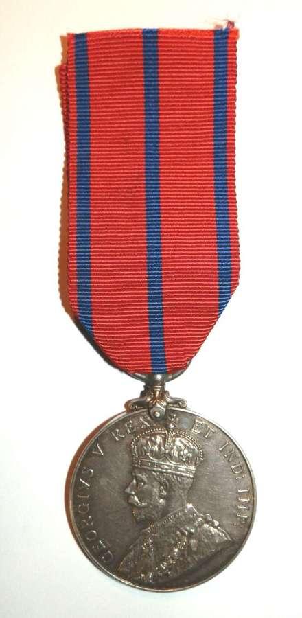 Coronation Medal 1911. PC H. Turner. Met Police.