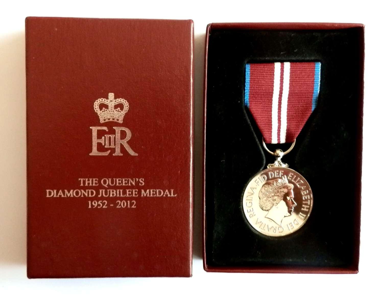 Diamond Jubilee Medal 2012.